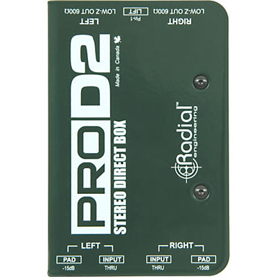 Radial Engineering ProD2 Passive Stereo Direct Box