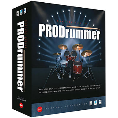 """EastWest ProDrummer 1 - By  Mark """"Spike"""" Stent"""