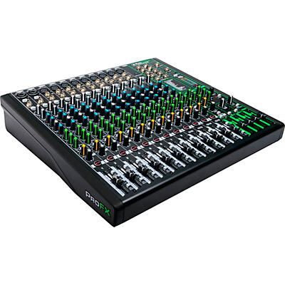 Mackie ProFX16v3 16-Channel 4-Bus Professional Effects Mixer with USB