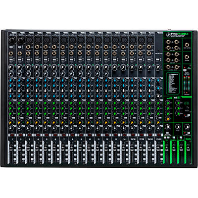 Mackie ProFX22v3 22-Channel 4-Bus Professional Effects Mixer with USB