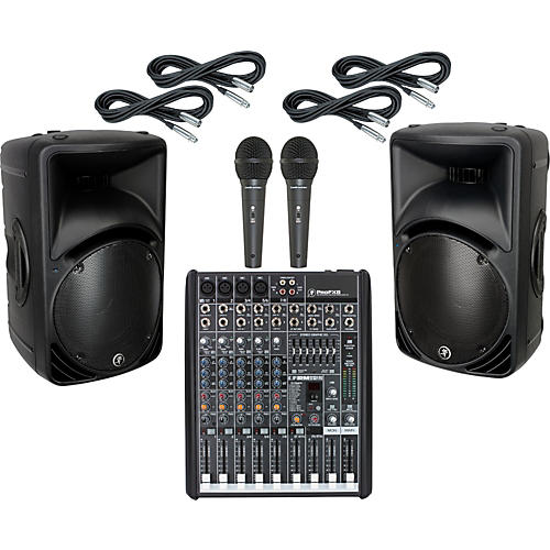 Mackie ProFX8 / SRM450 V2 PA Package