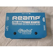 Radial Engineering ProRMP/DI Re-Amping Passive Direct Box Audio Interface