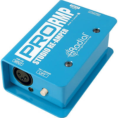 Radial Engineering ProRMP/DI Re-Amping Passive Direct Box Pack