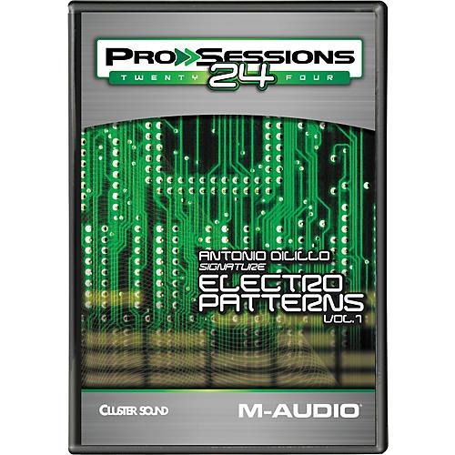 M-Audio ProSessions 24 Antonio Dilillo Signature Electro Patterns Volume 1