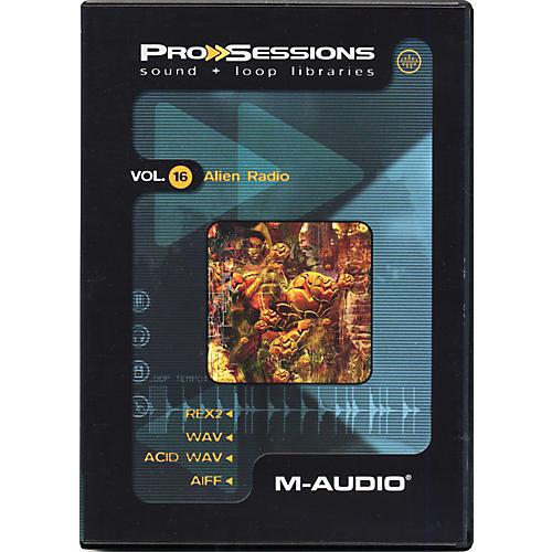 M-Audio ProSessions Vol. 16: Alien Radio Audio Loop Collection