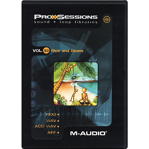 M-Audio ProSessions Vol. 50: Rice and Beans