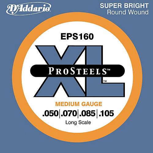 D'Addario ProSteels EPS160 Medium Gauge Long Scale Bass Strings