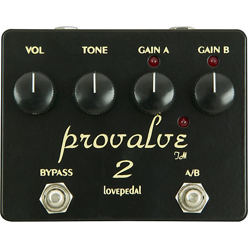 Lovepedal ProValve 2 Dual Distortion Guitar Effects Pedal