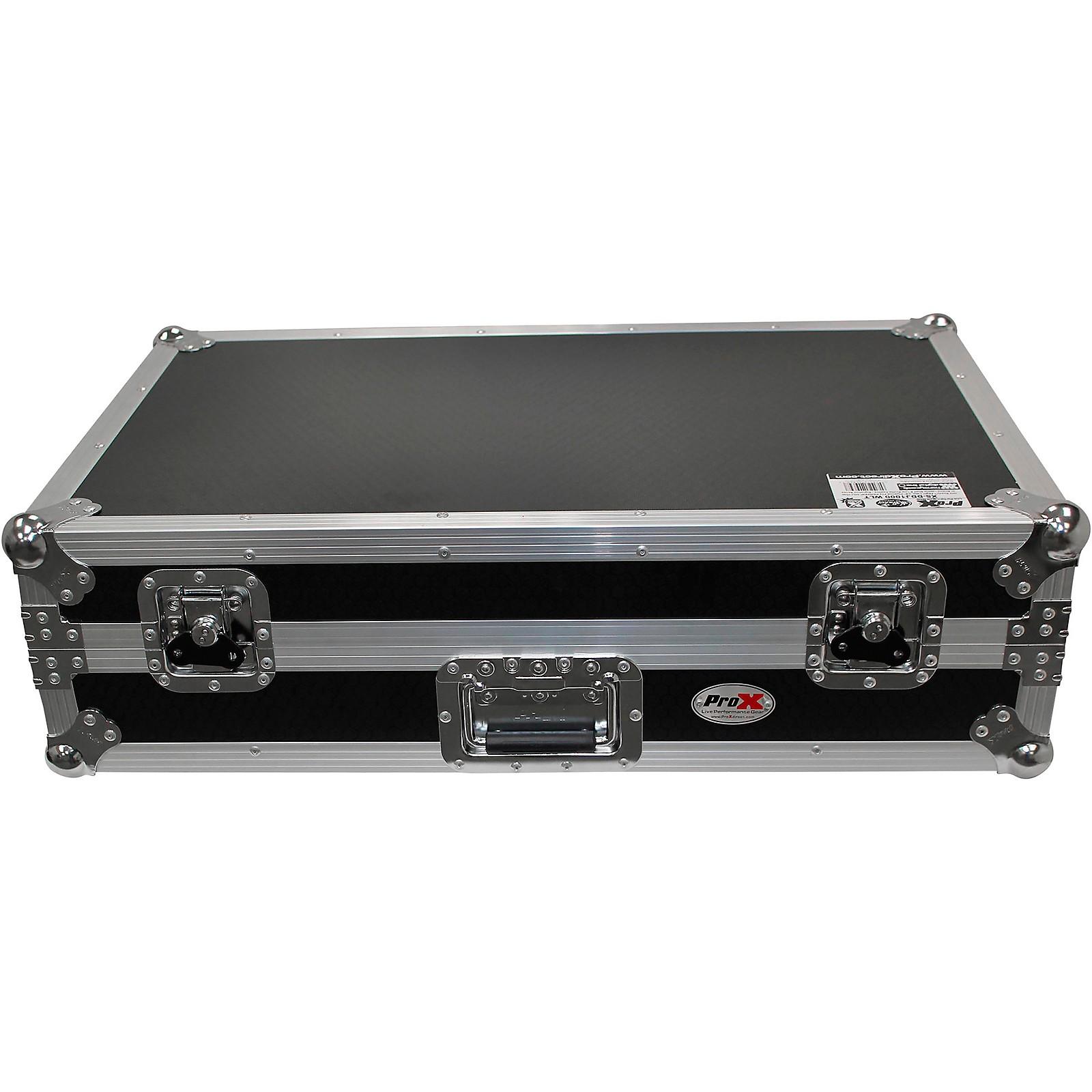 ProX ProX Pioneer DDJ-1000 Case w/ Sliding Laptop Shelf & Wheels