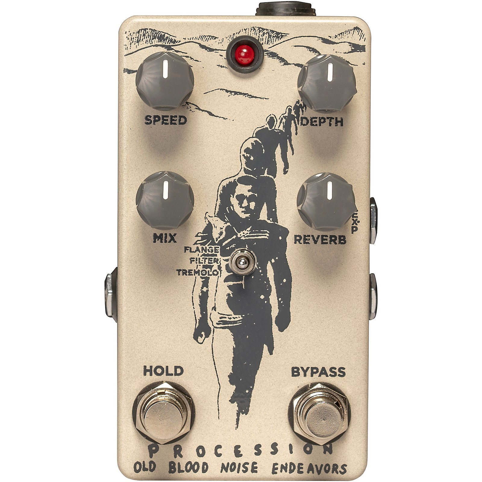 Old Blood Noise Endeavors Procession Reverb Effects Pedal