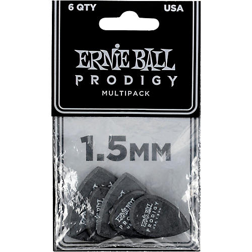 Ernie Ball Prodigy Multipack 1.5 mm 6 Pack