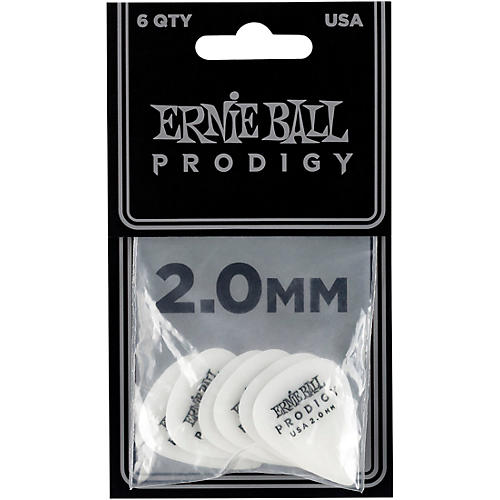 Ernie Ball Prodigy Picks Standard 2.0 mm 6 Pack