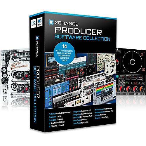 XCHANGE Producer Collection with PreSonus, Cakewalk, IK Multimedia, Image Line, Loop Loft, Ohm Force and Sonnox