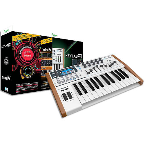 Arturia Producer Pack 25 includes KeyLab 25/Bitwig Studio/Mini V