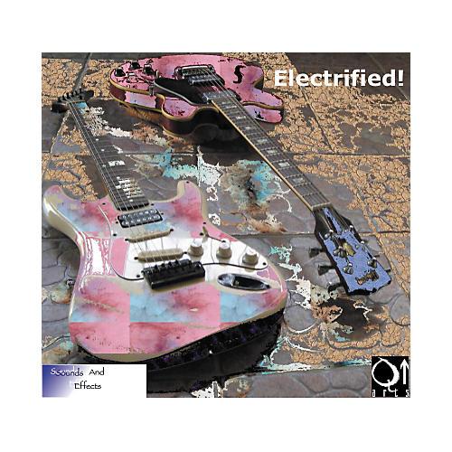 Q Up Arts Producer Series V1 Electrified Guitars AIFF/WAV DVD