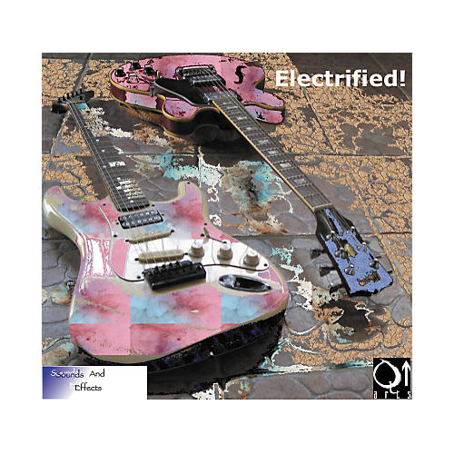Q Up Arts Producer Series V1 Electrified Guitars Logic EXS24 DVD