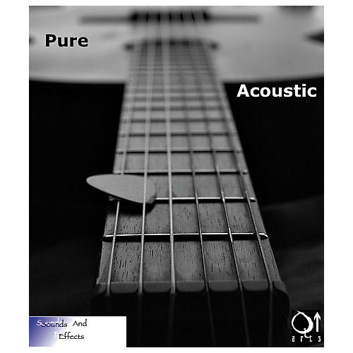 Q Up Arts Producer Series V2 Pure Acoustic Guitars AIFF/WAV DVDs