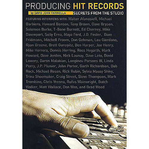 Schirmer Trade Producing Hit Records (Secrets from the Studio) Omnibus Press Series Softcover