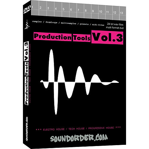 Best Service Production Tools Vol.3 Sample & Loop Library
