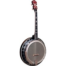 Gold Tone Professional 4-String Irish Tenor Resonator Banjo with Flange For Left Hand Players