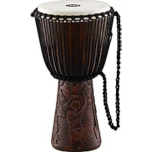 Professional African Djembe Large African Village Carving