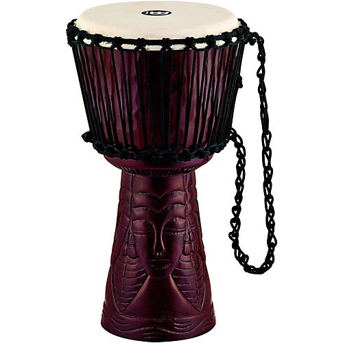 Meinl Professional African Style Djembe African Queen Carving 10 in.
