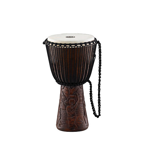 Meinl Professional African Style Djembe Village Carving 10 in.