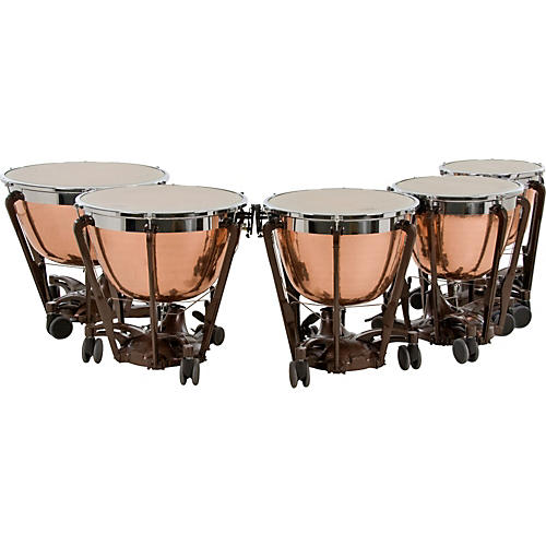 Professional Series Generation II Cambered Copper Timpani, Set of 5