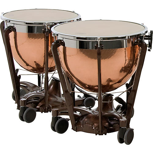 Adams Professional Series Generation II Hammered Copper Timpani, Set of 2