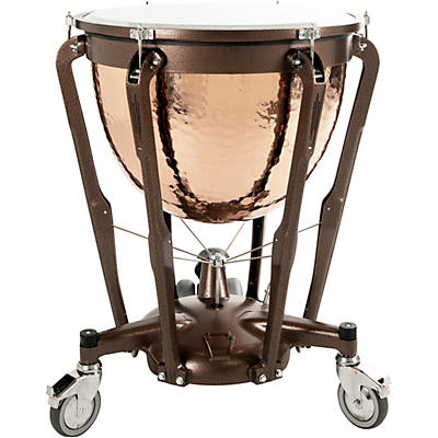 Ludwig Professional Series Hammered Copper Timpani with Gauge