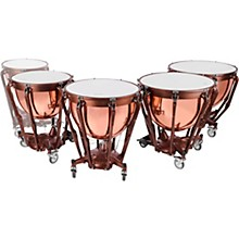 Ludwig Professional Series Polished Copper Timpani Set with Gauge