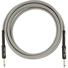 Professional Series Straight to Straight Instrument Cable 10 ft. White Tweed