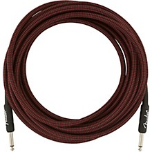 Professional Series Straight to Straight Instrument Cable 18.6 ft. Red Tweed