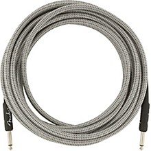 Professional Series Straight to Straight Instrument Cable 18.6 ft. White Tweed