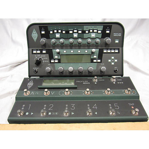 Kemper Profiler Head Non Powered With Remote Solid State Guitar Amp Head