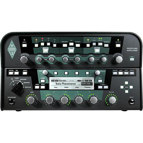 Kemper Profiler PowerHead 600W Class-D Profiling Guitar Amp Head Black