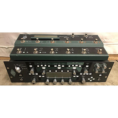Kemper Profiler Rack Non Powered With Footswitch Effect Processor
