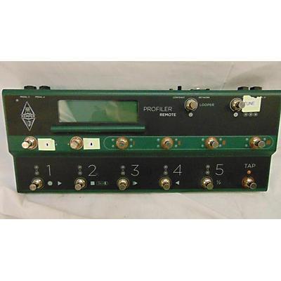 Kemper Profiler Remote Pedal Board