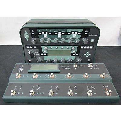Kemper Profiling Amplifier Non Powered With Remote Solid State Guitar Amp Head