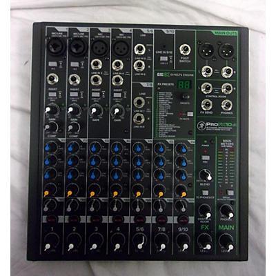 Mackie Profx10 V3 Unpowered Mixer