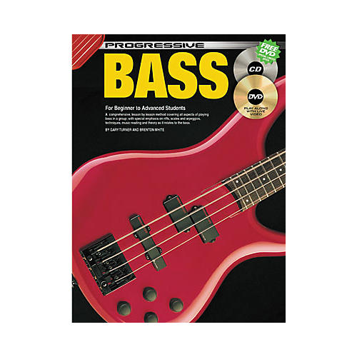 Koala Music Progressive Bass Guitar (Book/CD/DVD)