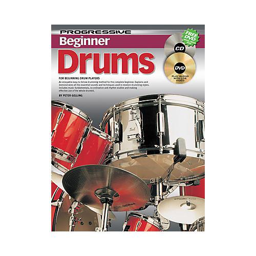 Koala Music Progressive Beginner Drums Book / CD / DVD