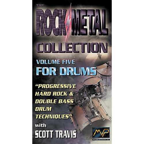 MVP Progressive Hard Rock Drumming with Scott Travis Video