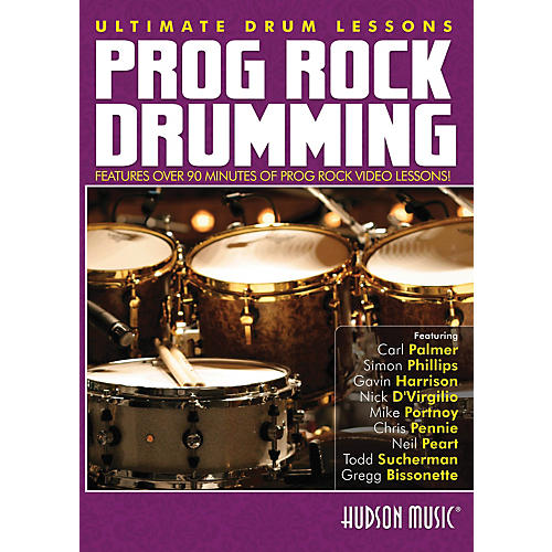 Hudson Music Progressive Rock Ultimate Drum Lessons Series Hudson DVD