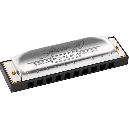 Hohner Progressive Series 560 Special 20 Harmonica F