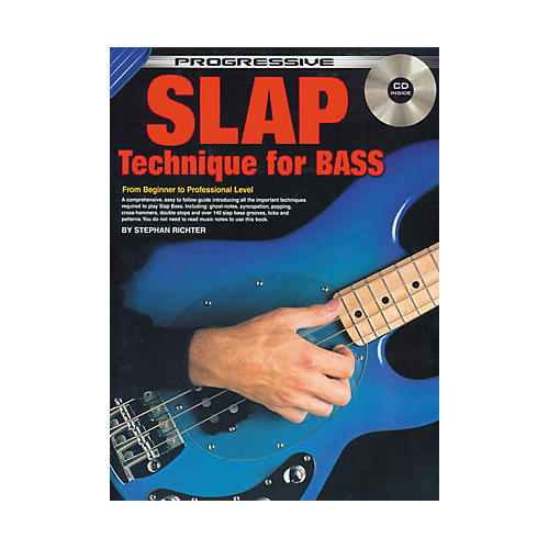 Koala Music Progressive Slap Technique for Bass (Book/CD)