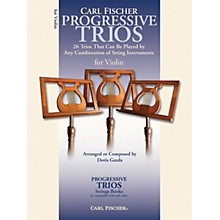 Carl Fischer Progressive Trios for Strings - Violin Book