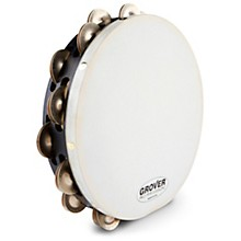 Grover Pro Projection-Plus Double-Row German Silver Tambourine