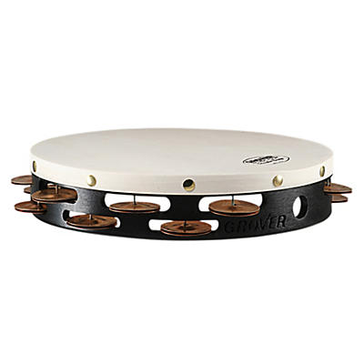 Grover Pro Projection-Plus Double-Row Phosphor Bronze Tambourine