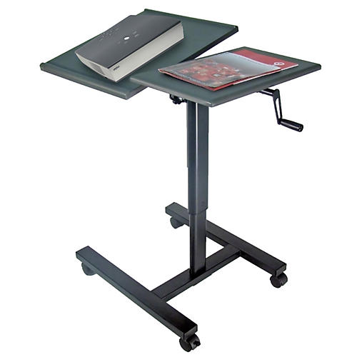 H. Wilson Projector table with tilting panel